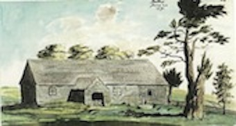 Image of C18th painting of the church